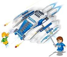 """Космически боен кораб - Детски конструктор от серията """"BanBao Journey V"""" -"""