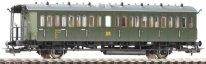 Пътнически вагон - Втора класа - ЖП модел - макет