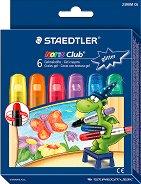 Гел пастели с брокат - Noris Club 2390 - Комплект от 6 цвята