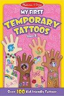 Блокче с татуировки за момичета - Розово - играчка