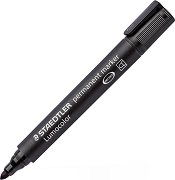Перманентен маркер с объл връх- Lumocolor 352
