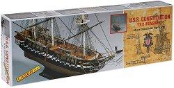 """Фрегата - U.S.S. Constitution """"Old Ironsides"""" - Сглобяем модел на кораб от дърво - макет"""