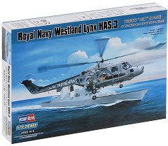 Военен хеликоптер - Royal Navy Westland Lynx HAS.3 - Сглобяем авиомодел -