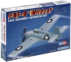 """Военен самолет - F4F-4 """"Wildcat"""" - Сглобяем авиомодел - продукт"""
