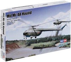 Военен хеликоптер - Mil Mi-4A Hound - Сглобяем авиомодел -