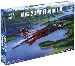 """Съветски изтребител - MiG-23MF """"Flogger-B"""" - Сглобяем модел - макет"""