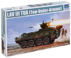 Канадски бронетранспортьор - LAV III TUA - Сглобяем модел - макет