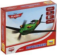 """Рипслингър - Сглобяем модел за деца от серията """"Самолети"""" - макет"""