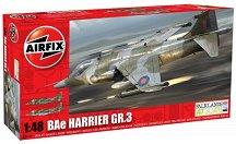 Изтребител - BAe Harrier GR.3 - Сглобяем авиомодел -