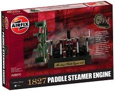 Парен двигател - 1827 Maudslay's Paddle Steamer Engine - Сглобяем модел -