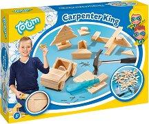 Дърводелски комплект за малкия занаятчия - Творчески комплект - творчески комплект