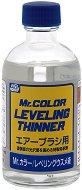 Разредител за акрилни бои на ацетонова основа - Mr. Color Leveling Thinner - Шишенце от 110 ml - макет