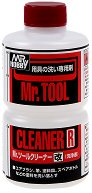 Разтвор за почистване на четки и аерографи - Mr. Tool Cleaner R - Шише от 250 ml - макет