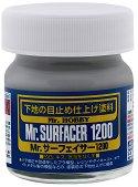 Кит за пластмасови модели и макети - Mr. Surfacer - Бурканче от 40 ml - продукт