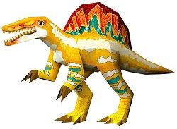 Хартиен свят: Спинозавър - пъзел