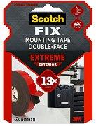 Двойнозалепваща монтажна лента - VHB Extreme - За вътрешна и външна употреба