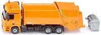 """Камион за събиране на отпадъци - Mercedes-Actros - Метална играчка от серията """"Super: Local community services"""" -"""