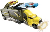 """Камион за катастрофи - Crashin' Big Rig - Играчка от серията """"Hot Wheels"""" - играчка"""