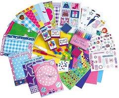 Направи сама  –  блестящи картички - творчески комплект