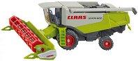 Зърнокомбайн - Claas Lexion 600 - Метална играчка -