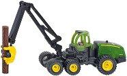 """Комбайн с кран - John Deere 1470E - Метална играчка от серията """"Super: Agriculture"""" -"""