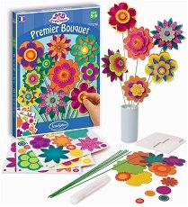Моят първи букет - Творчески комплект за създаване на хартиени цветя - продукт