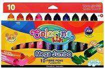 Миещи се флумастери - Комплект от 10 цвята
