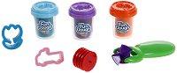 """Пластилин с формички и ролер - Комплект от серията """"Fun Dough"""" - играчка"""