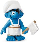 """Смърф - Корабен готвач - Фигура от серията - """"Малки Смърфове"""" -"""
