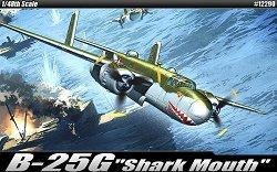 """Тактически бомбардировач - B-25G """"Shark Mouth"""" - Сглобяем авиомодел - макет"""