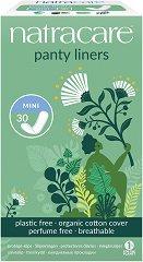 Natracare Panty Liners Mini - Ежедневни дамски превръзки в опаковка от 30 броя - мляко за тяло