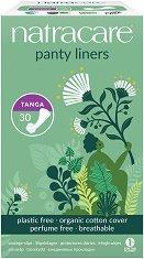 Natracare Panty Liners Tanga - Ежедневни дамски превръзки в опаковка от 30 броя -