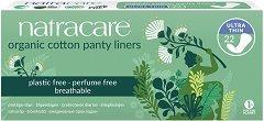Natracare Cotton Panty Liners Ultra Thin - Ежедневни дамски превръзки в опаковка от 22 броя - продукт