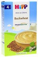 HiPP - Инстантна пребиотик млечна каша с елда - Опаковка от 250 g за бебета над 4 месеца -