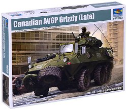Канадски бронетранспортьор - AVGP Grizzly (късна версия) - Сглобяем модел - макет