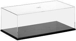Пластмасова кутия с прозрачен капак - Аксесоар за съхранение на модели и макети - макет