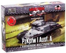 """Немски танк - Panzerkampfwagen I Ausf. A - Сглобяем модел от серията """"Септември 1939"""" - макет"""