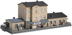 ЖП гара - Burgstadt - Сглобяем модел -