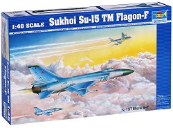 Съветски изтребител - Sukhoi Su-15 TM Flagon-F -