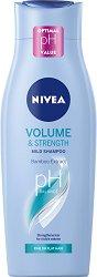 Nivea Volume & Strength Mild Shampoo - крем