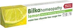 Bilka Homeopathy Lemon Natural Whitening Toothpaste -