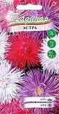 """Семена от Астра гигант - микс от цветове - Опаковка от 15 g от серия """"Градинар: Цветя"""""""