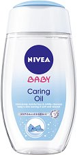 Nivea Baby Caring Oil - пудра