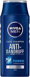 Nivea Men Care Shampoo Anti-Dandruff Power - Шампоан за мъже против пърхот с екстракт от бамбук - продукт