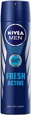 """Nivea Men Fresh Active Anti-Perspirant - Дезодорант за мъже против изпотяване от серията """"Fresh Active"""" - четка"""