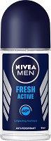 Nivea Men Fresh Active Anti-Perspirant Roll-On - дезодорант