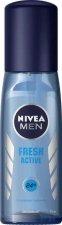 """Nivea Men Fresh Active Pump Spray Deodorant - Спрей дезодорант за мъже от серията """"Fresh Active"""" - ролон"""