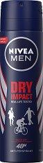 """Nivea Men Dry Impact Anti-Perspirant - Дезодорант за мъже против изпотяване от серията """"Dry Impact"""" - ролон"""