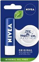 Nivea Original Care - Балсам за устни с масло от ший и пантенол - шампоан