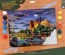 Нарисувай сам шедьовър - Париж - Творчески комплект - продукт